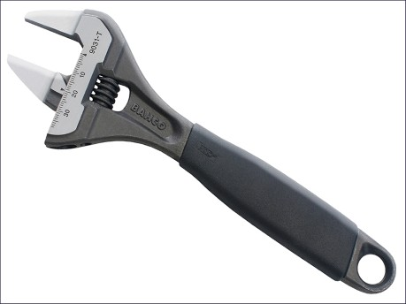 9031T ERGO™ Slim Jaw Adjustable Wrench 200mm (8in)