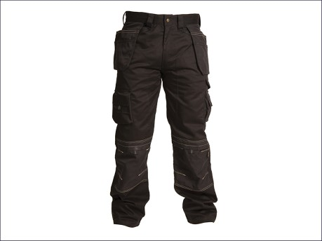 Black Holster Trousers Waist 40in Leg 31in