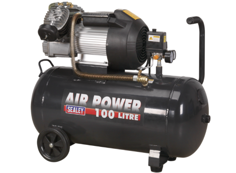 Compressor 100ltr V-Twin Direct Drive 3hp