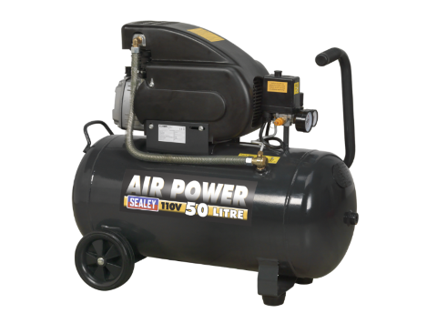 Compressor 50ltr Direct Drive 2hp 110V