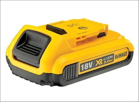 DCB183 XR 18V 2.0Ah Li-Ion Battery