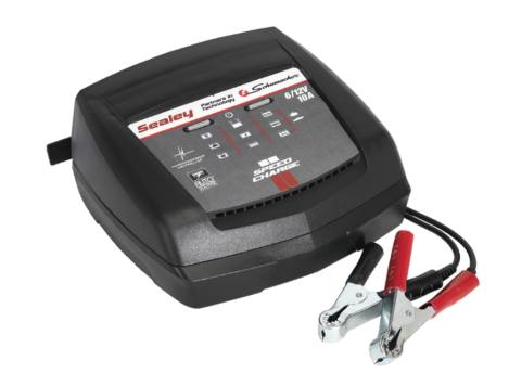 Intelligent Speed Charge Battery Charger 10Amp 6/12V