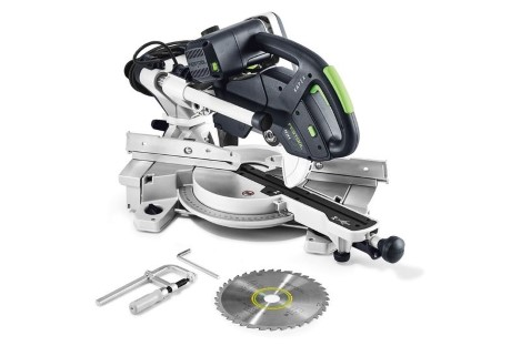 Sliding compound mitre saw KS 60 E GB 240V KAPEX