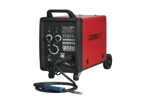 Professional MIG Welder 200Amp 230V with Binzel® Euro Torch
