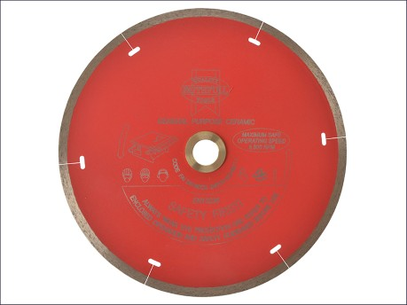 Tile Blade Continuous Rim 180mm x 22.2mm