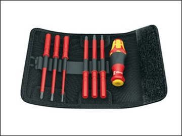 Kraftform VDE Kompakt Screwdriver Set of 7 Interchange SL PZ